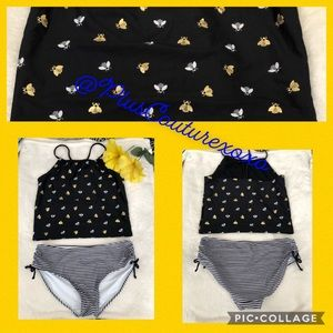 🐝 2 Piece Bumble Bee Swimsuit